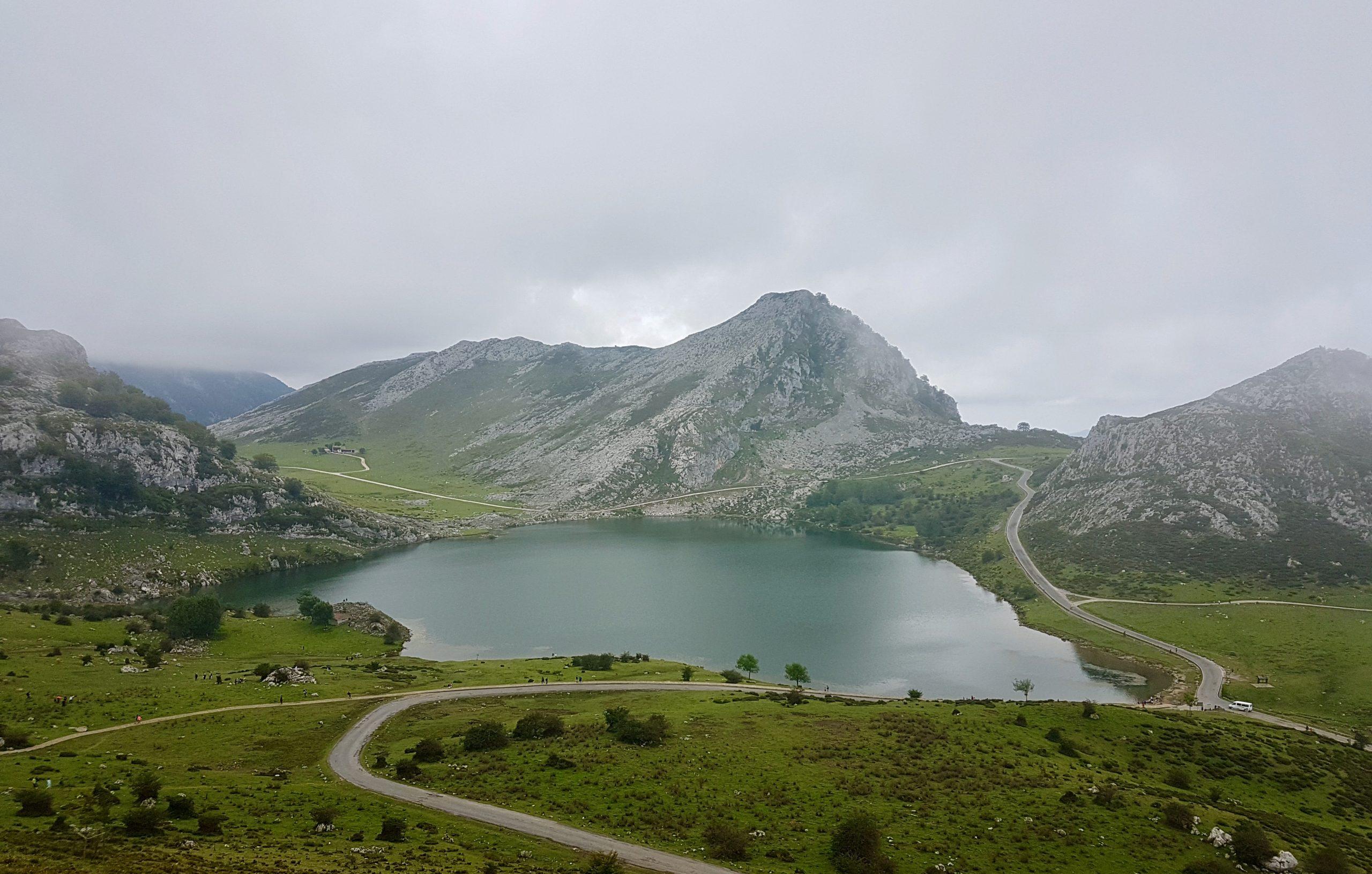 Lagos de Covadonga en Asturias